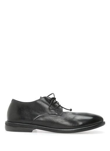 %100 Deri Bağcıklı Klasik Ayakkabı-Marsell